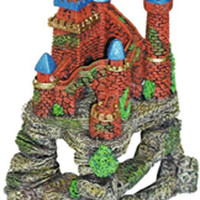Resin Ornament - Castle Fortress Cavern