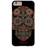 Day of the Dead Sugar Skull Barely There iPhone 6 Plus Case