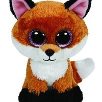Ty Beanie Boos Slick The Brown Fox Plush