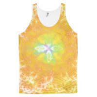 Flowering Explosion of Enlightenment || Classic fit tank top (unisex) — Future Life Fashion