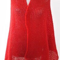 blanket scarf,That's a wrap Red,Knitted shawl,hand knitted,Free Shipping,hand knitted,Shawls & Wraps,Big sale,prom dres,bridal stole