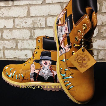 Custom Timberland. Custom Timberlands. Custom Boots. Painted Boots. Painted Tims