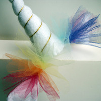 Rainbow Unicorn Horn Headband (No. 2)