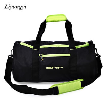 Men Travel Bags New 2017 Cylinder Hand Traveling Bag Casual Luggage Duffle Bag Unisex  Round Canvas Bag