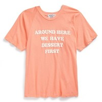 Girl's Wildfox 'Around Here' Graphic Cotton Tee