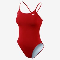 The Nike Poly Core Performance Cut-Out Women's Tank Swimsuit.