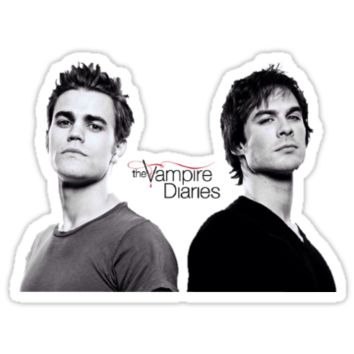 The vampire diaries Salvatore Brothers by Katie358