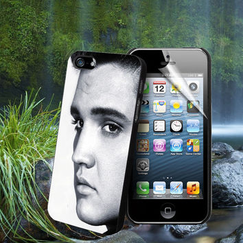 Elvis Presley Portrait Photo - For Samsung Galaxy S3 / S4 and IPhone 4 / 4S / 5 / 5S / 5C Case