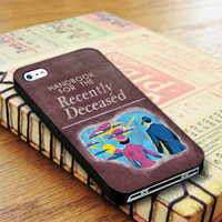 Beetlejuice Inspired Handbook For The Recently Deceased Design iPhone 4 | iPhone 4S Case
