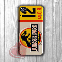 Jurassic Park License Plate - zzdd for  iPhone 4/4S/5/5S/5C/6/6+s,Samsung S3/S4/S5/S6 Regular/S6 Edge,Samsung Note 3/4