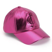 Metallic Logo Baseball Cap by Juicy Couture