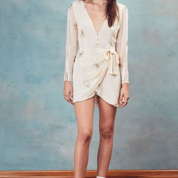 Scorpion Wrap Mini Dress – For Love & Lemons