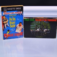 Public Enemy 1989 Welcome To The Terrordome & Fight The Power Cassette Singles