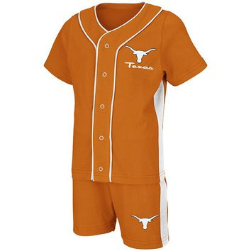 Texas Longhorns Homer Jersey & Shorts Set - Toddler, Size: