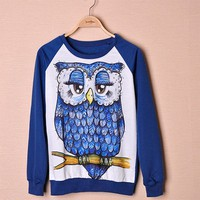 Online Shop New Discount Women Casual Space Printed Pullovers Sweatshirts Tiger / Elephant / Cross 3D Animal Top 30|Aliexpress Mobile