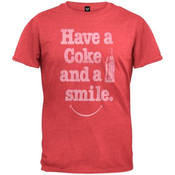 Coca-Cola - Have A Smile Soft T-Shirt