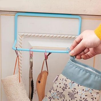 Hot Towel Storage Rack Kitchen Rag Holder Hanging Cleaning Cloth Tailgate Holders Bathroom Kitchen Accessories