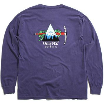 Winter Expedition Longsleeve T-Shirt Vintage Plum