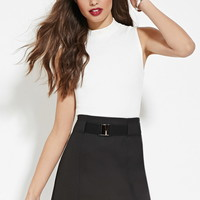 High-Neck Crop Top | Forever 21 - 2000184905