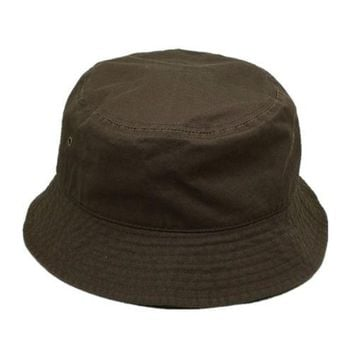 New For Women's Men's Bucket Hat Cap Fishing Boonie Brim visor Sun Safari Brown