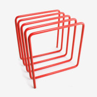 Cow+Co – magazine rack, magazine holder, desk tidy, stationery, block design, designer stationery, office accessories, workspace