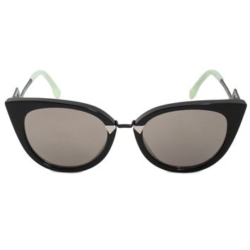 Fendi Orchidea Cat Eye Sunglasses FF0118S AQM UE 52