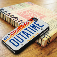 Outatime Back To The Future California License Plate iPhone 5 | iPhone 5S Case