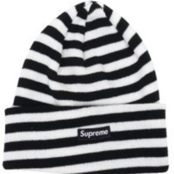 Perfect Supreme Women Men Embroidery Winter Beanies Warm Knit Hat Cap