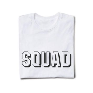 SQUAD | TEXT SHIRT