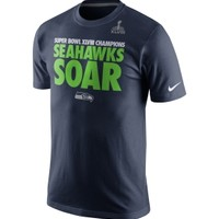 Nike Men's Seattle Seahawks Super Bowl XLVIII Champions Local T-Shirt