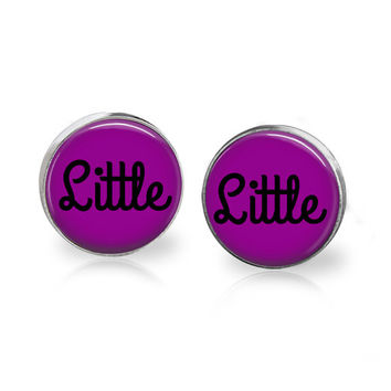 Littles Jewelry Littles Accessories ABDL Jewelry ABDL Accessories ABDL Clothing Baby Girl Brat Little Jewelry Little Earrings Submissive Sub
