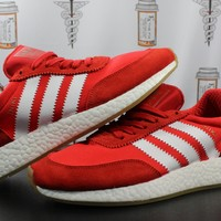"AUGUAU Adidas Iniki Runner ""Red"""