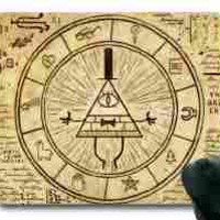 Gravity Falls Bill Cipher Rectangle Mouse Pad by Sakuraelieechyan