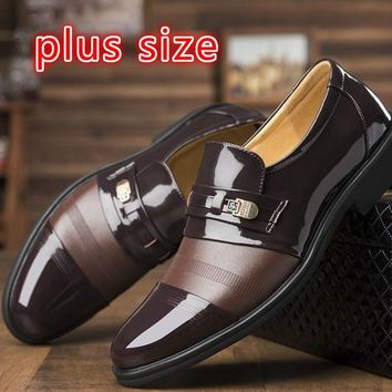 New Design Men Shoes New Fashion England Men Leather Shoes Formal Shoes Loafers Oxford Shoes