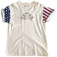 USA American Flag shirt tshirt Clothing Vintage Rare Unisex Mens Womens Tee Top