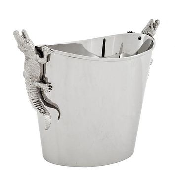 Silver Wine Cooler | Eichholtz Alligator