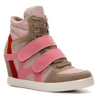 N.Y.L.A. Brander Color Block Wedge Sneaker