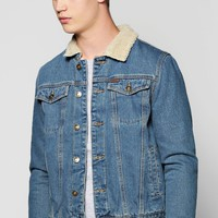 Borg Lined Denim Jacket