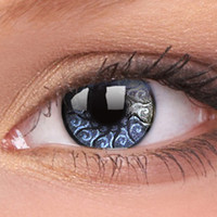 Silver Jewel Colour Contact Lenses, Silver Jewel Colour Contacts | EyesBright.com