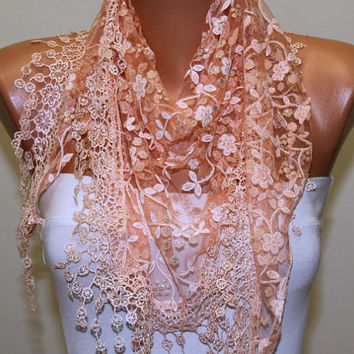 Etsy - Women Shawl Scarf - Headband Necklace Cowl/76574709
