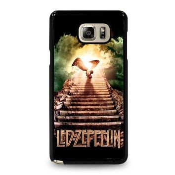 LED ZEPPELIN STAIRWAY TO HEAVEN Samsung Galaxy Note 5 Case Cover