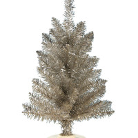 Tinsel Tabletop Tree