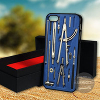 Drafting Set Compass case for Note 2,3/iPod 4th 5th/iPhone 5,5s,5c,4,4s,6,6+[ JYJ ] LG Nexus/HTC One/Samsung Galaxy S3,S4,S5