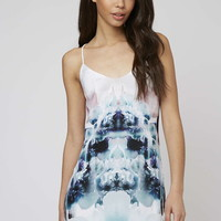 **Salina Digital Floral Printed Slip Dress by Goldie