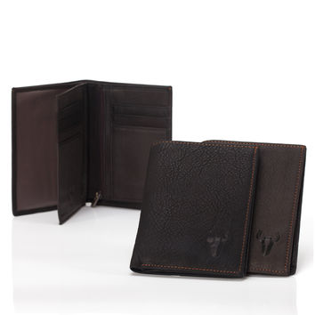 Leather Big Size Men Wallet [9026282051]