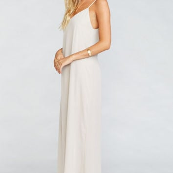 Jolie Maxi Dress ~ Show Me the Ring Crisp