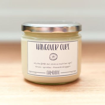 Hangover Cure Candle