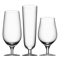 Orrefors 'Beer Collection' Glasses (Set of 3)