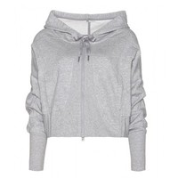Adidas by Stella McCartney Studio Jersey Hooded Top