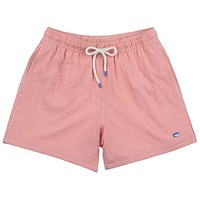 Seersucker Swim Trunks in Coral Beach by Southern Tide - FINAL SALE